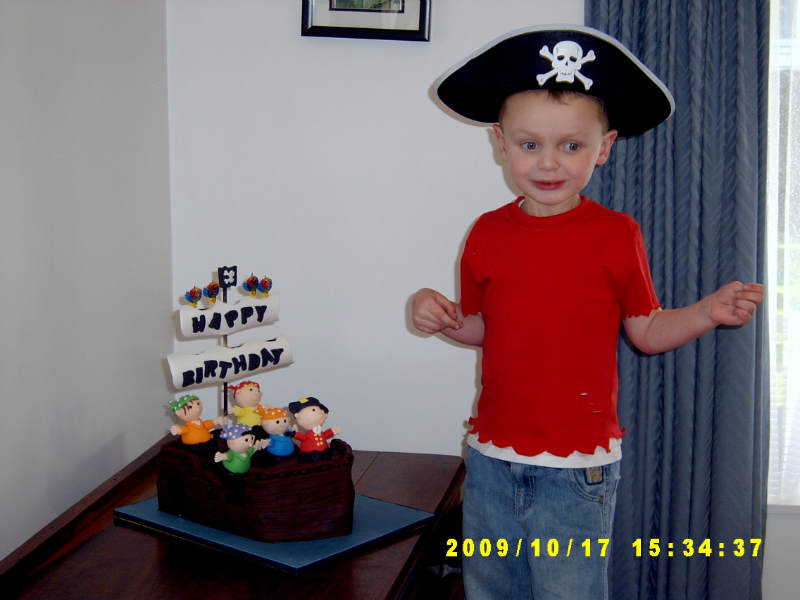 Andrew pirate party
