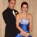 Adam and Bayley, King & Queen of their school Ball and only 2 weeks after surgery!